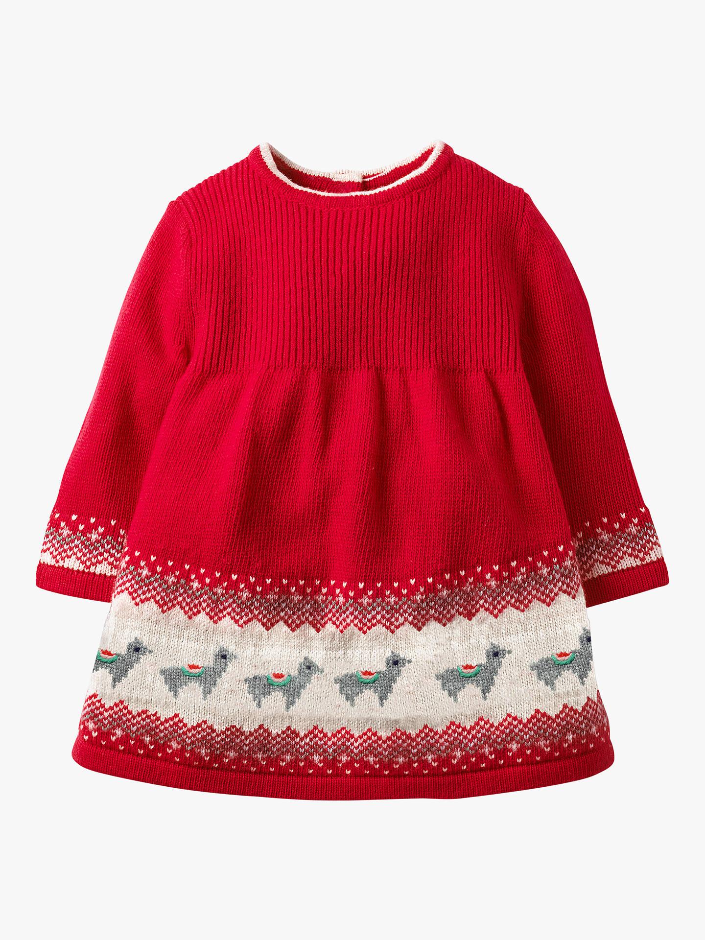 01c61d33c001 Buy Mini Boden Baby Fairisle Knitted Dress