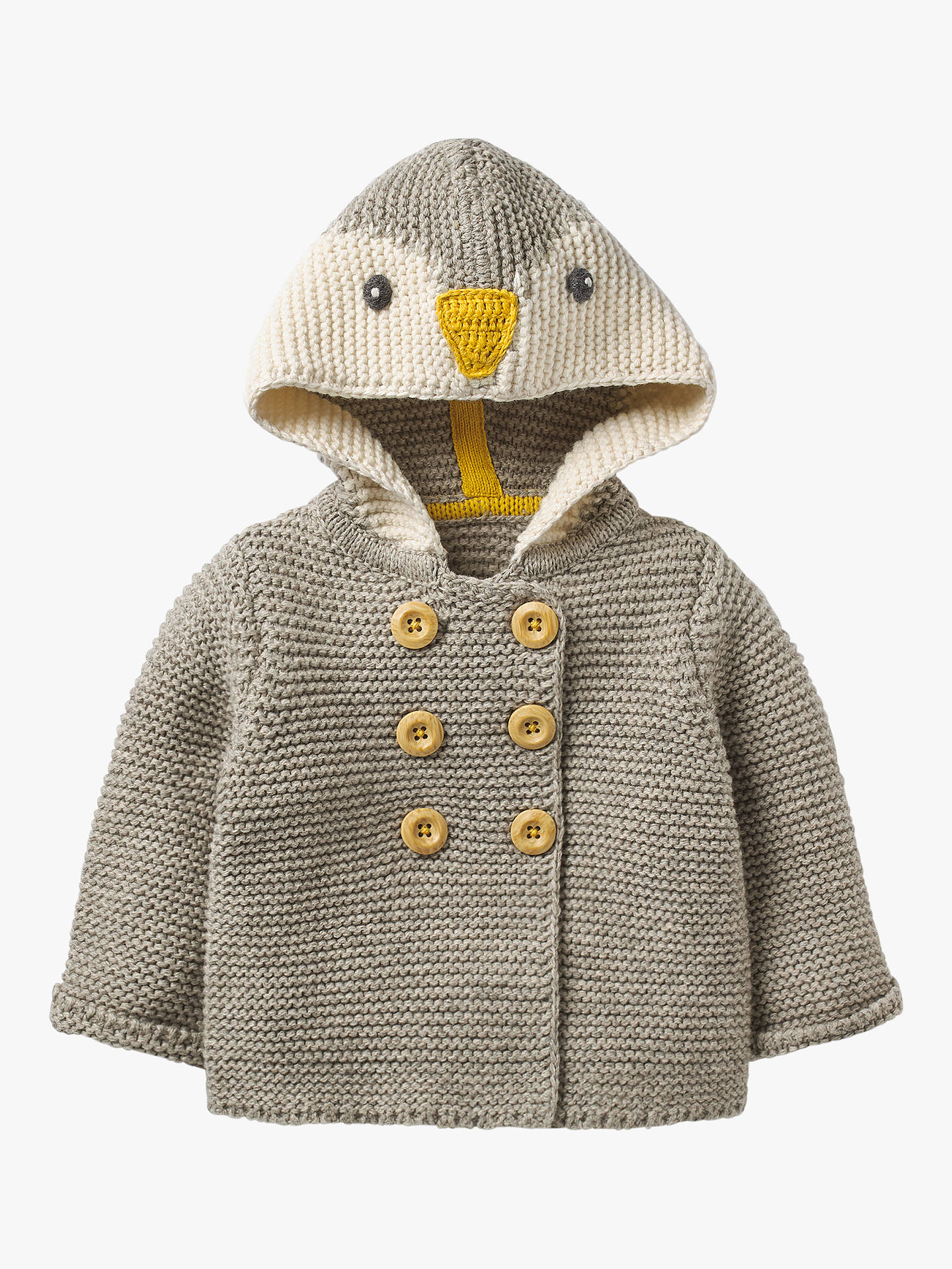 34eb9890f3b1 Mini Boden Baby Penguin Knitted Jacket