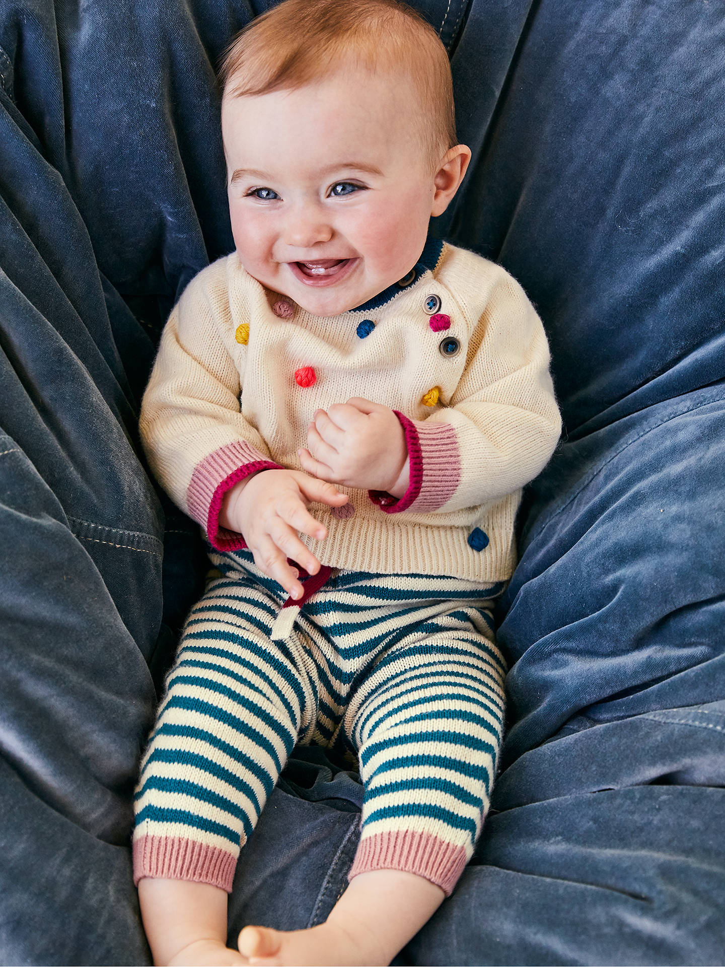 e1bc7bf54 Mini Boden Baby Knitted Jumper and Legging Set