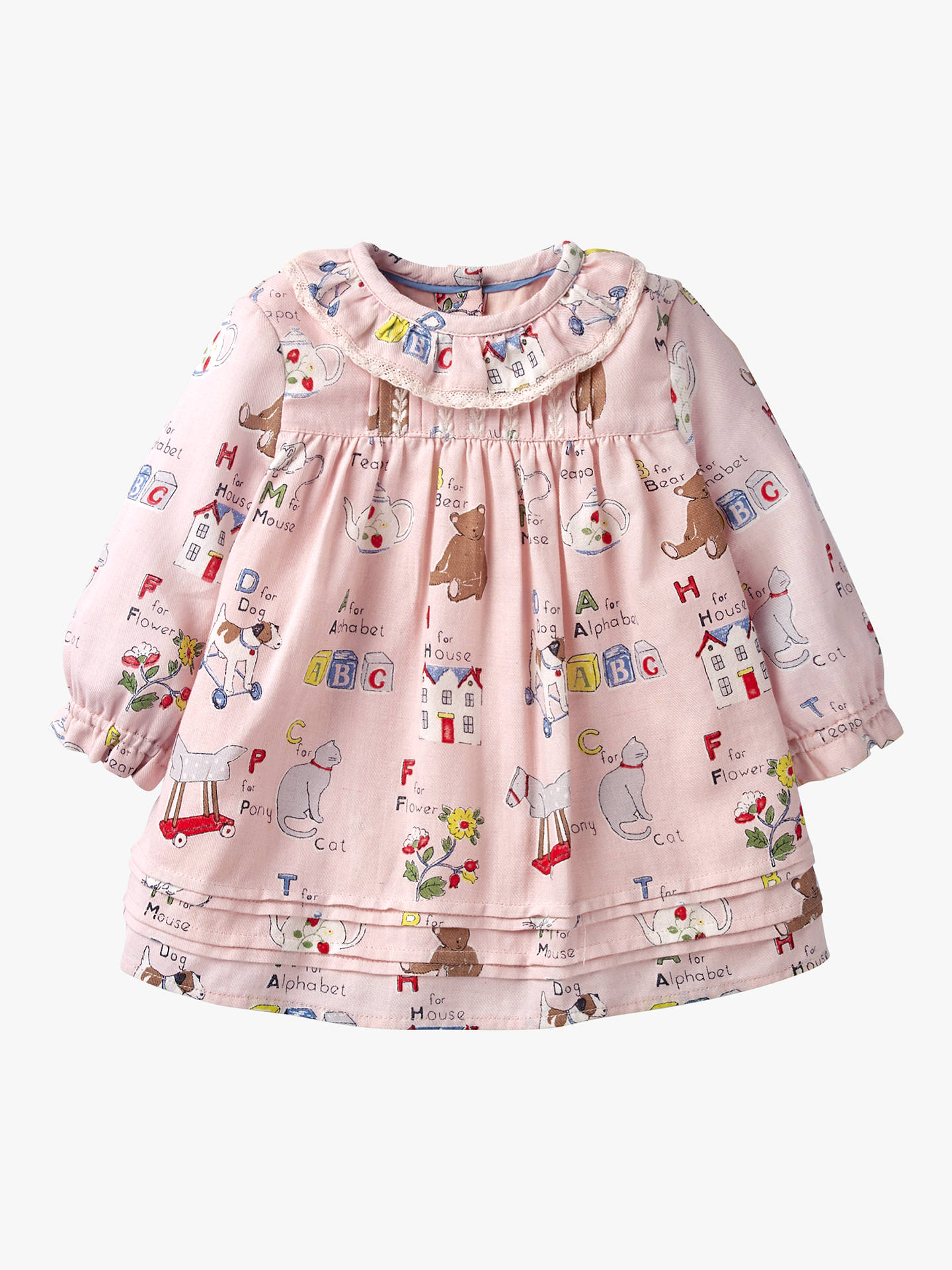 b39e89dec944 Mini Boden Baby Nostalgic Pleated Dress