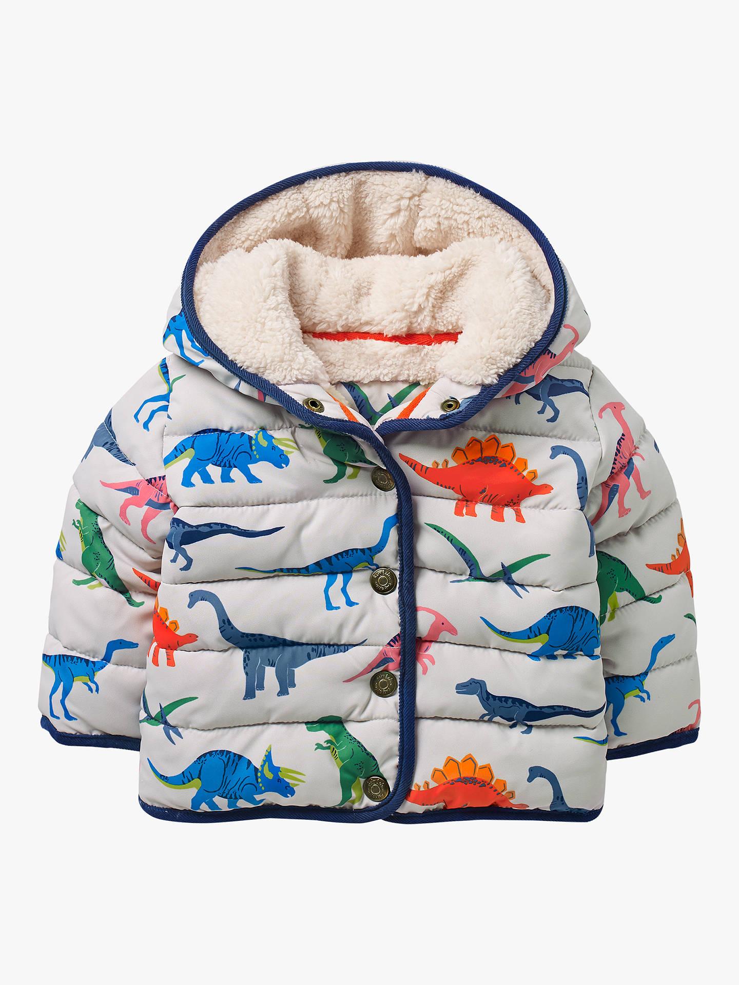 8839b3525 Mini Boden Baby Babysaurus Padded Coat