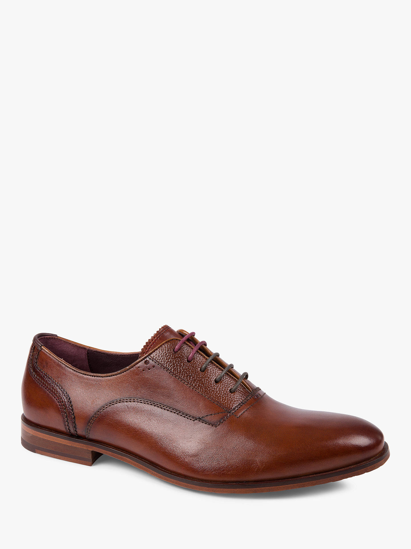 Buy Ted Baker Willah Oxford Shoes, Brown, 7 Online at johnlewis.com