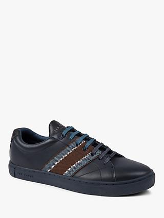 Ted Baker Peppah Stripe Detail Trainers