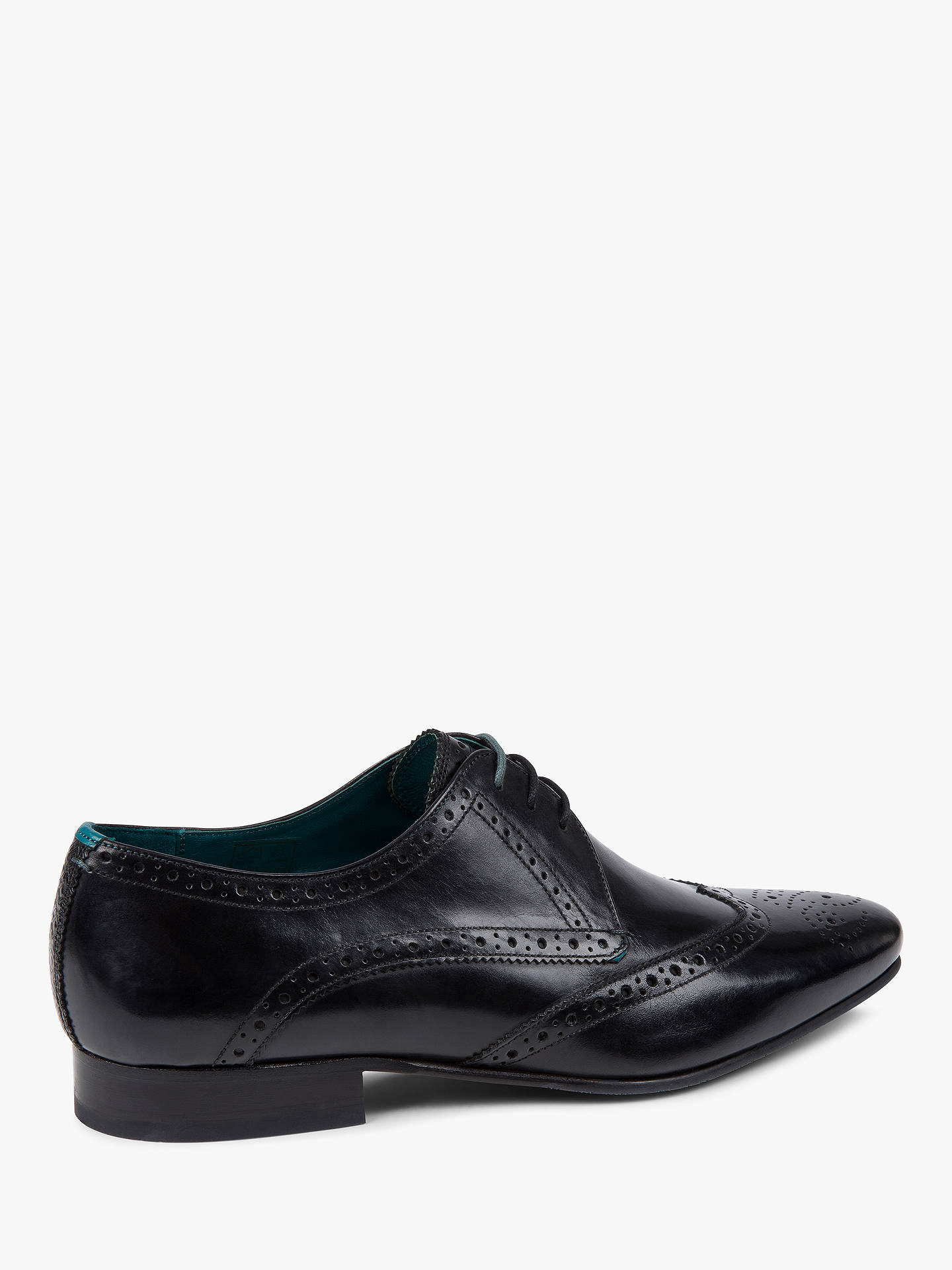 BuyTed Baker Shosei Derby Brogues, Black, 10 Online at johnlewis.com