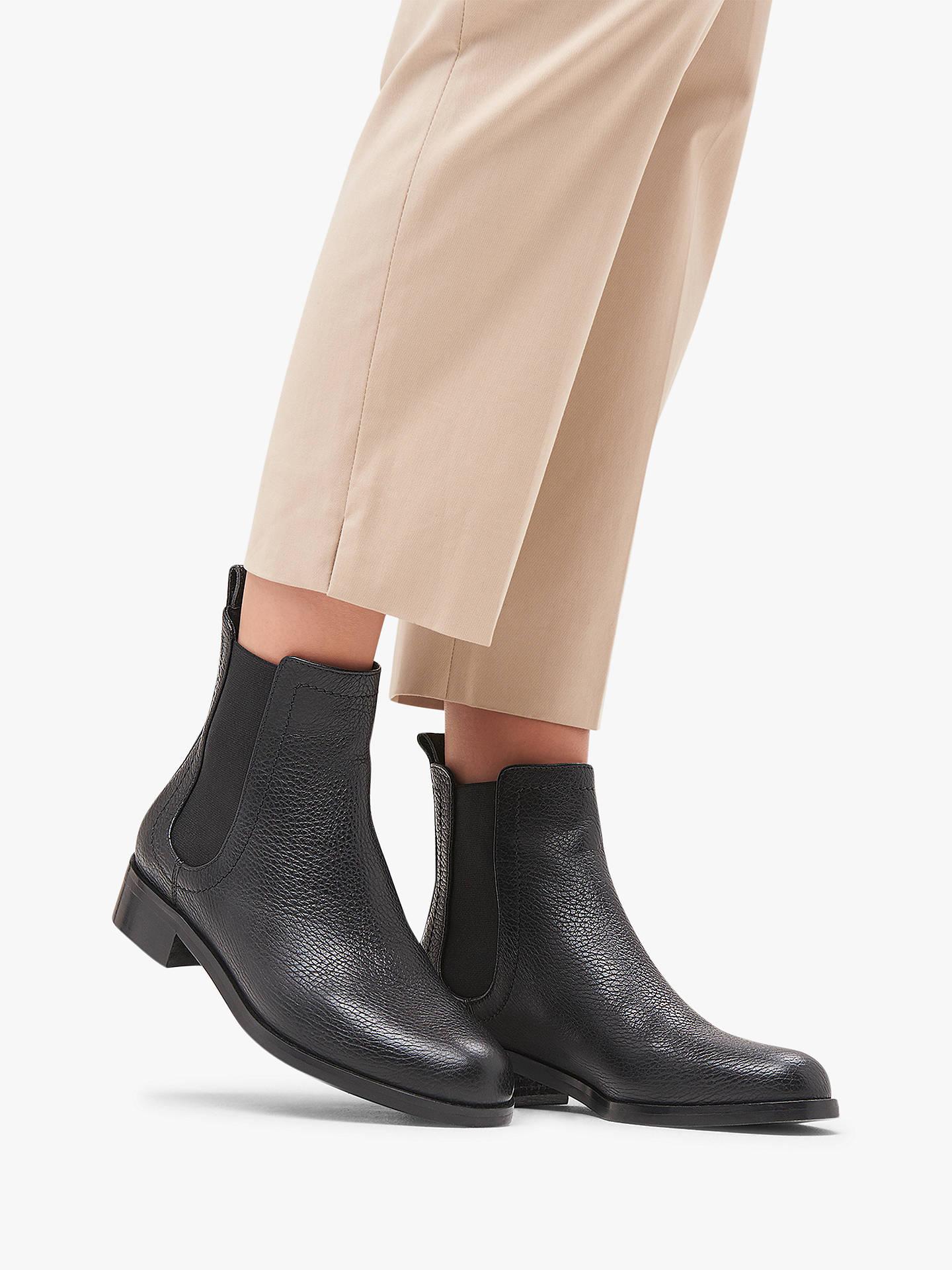 L.K.Bennett Blair Block Heel Chelsea Ankle Boots at John