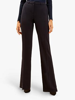 Fenn Wright Manson Kick Flare Antonia Trousers, Navy