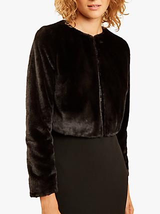 Fenn Wright Manson Maia Fur Jacket, Black