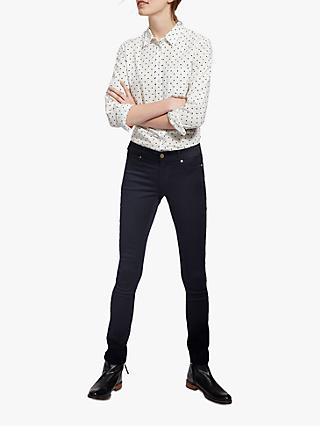 Joules Monroe Skinny Stretch Jeans, Blue Black