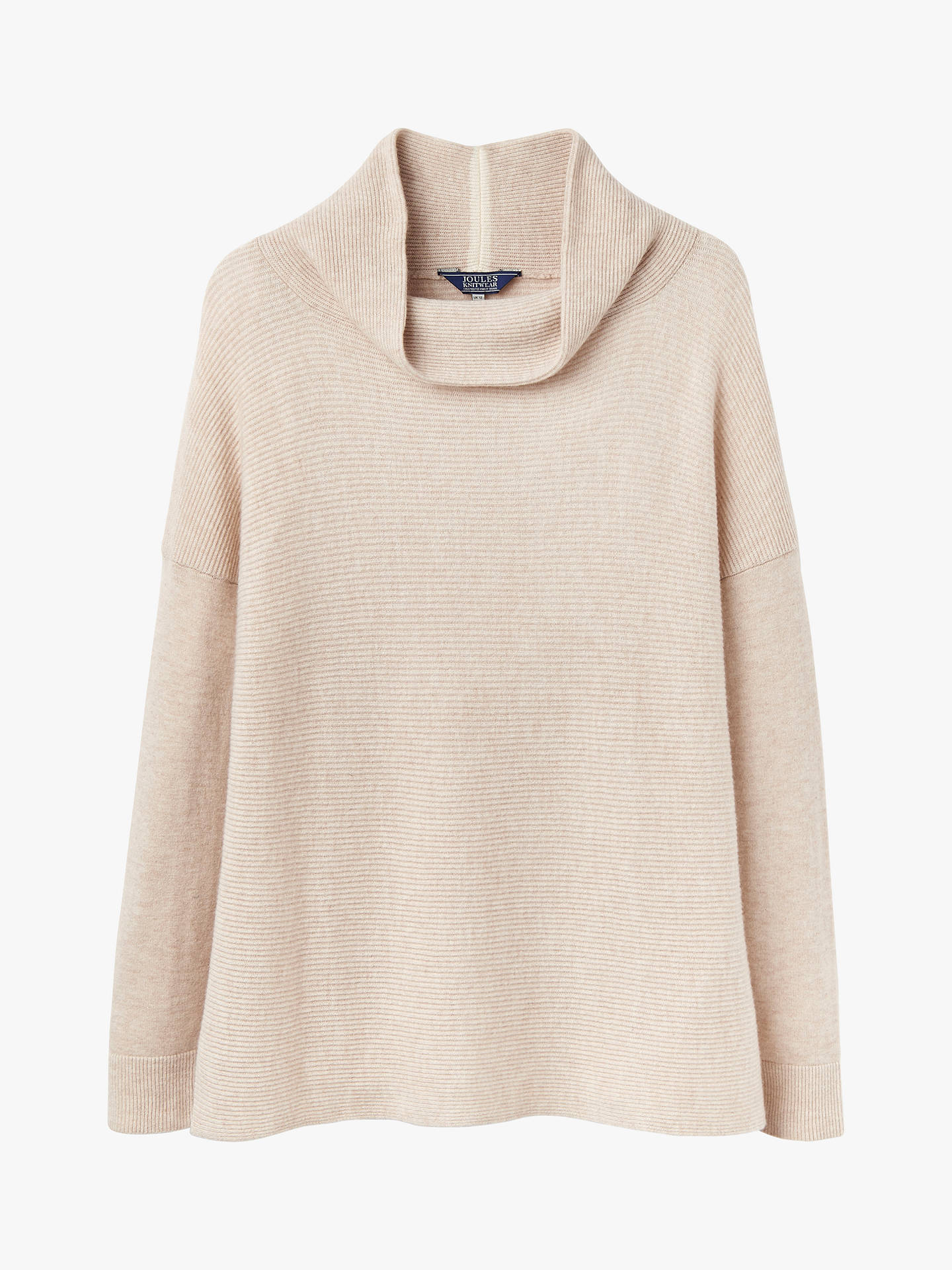 1c3f43cd2b8 Joules Euginia Ribbed Roll Neck Jumper at John Lewis & Partners
