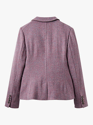Buy Joules Wiscombe Tweed Blazer, Lilac, 6 Online at johnlewis.com