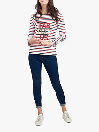 Joules Fab-Yule-Us Harbour Jersey Top, Multi