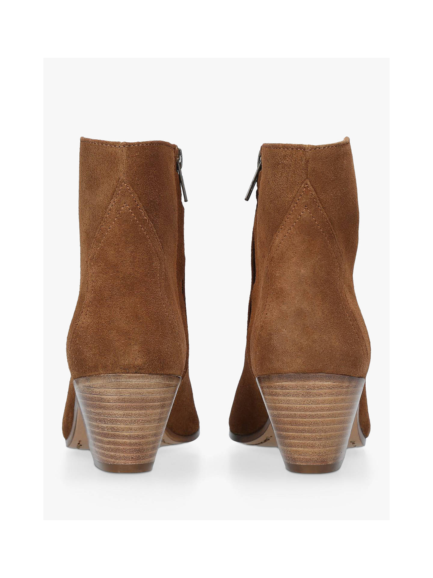 get new check out great variety styles Isabel Marant Dacken Block Heel Ankle Boots, Mid Brown Suede ...