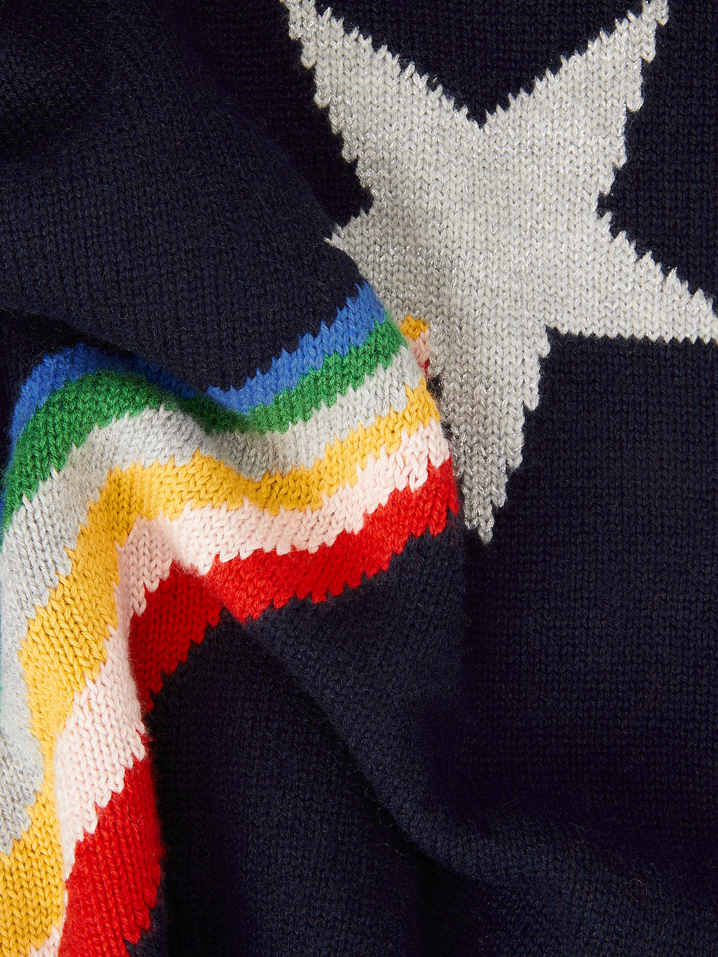 Buy Boden Novelty Shooting Star Scarf, Multi Online at johnlewis.com