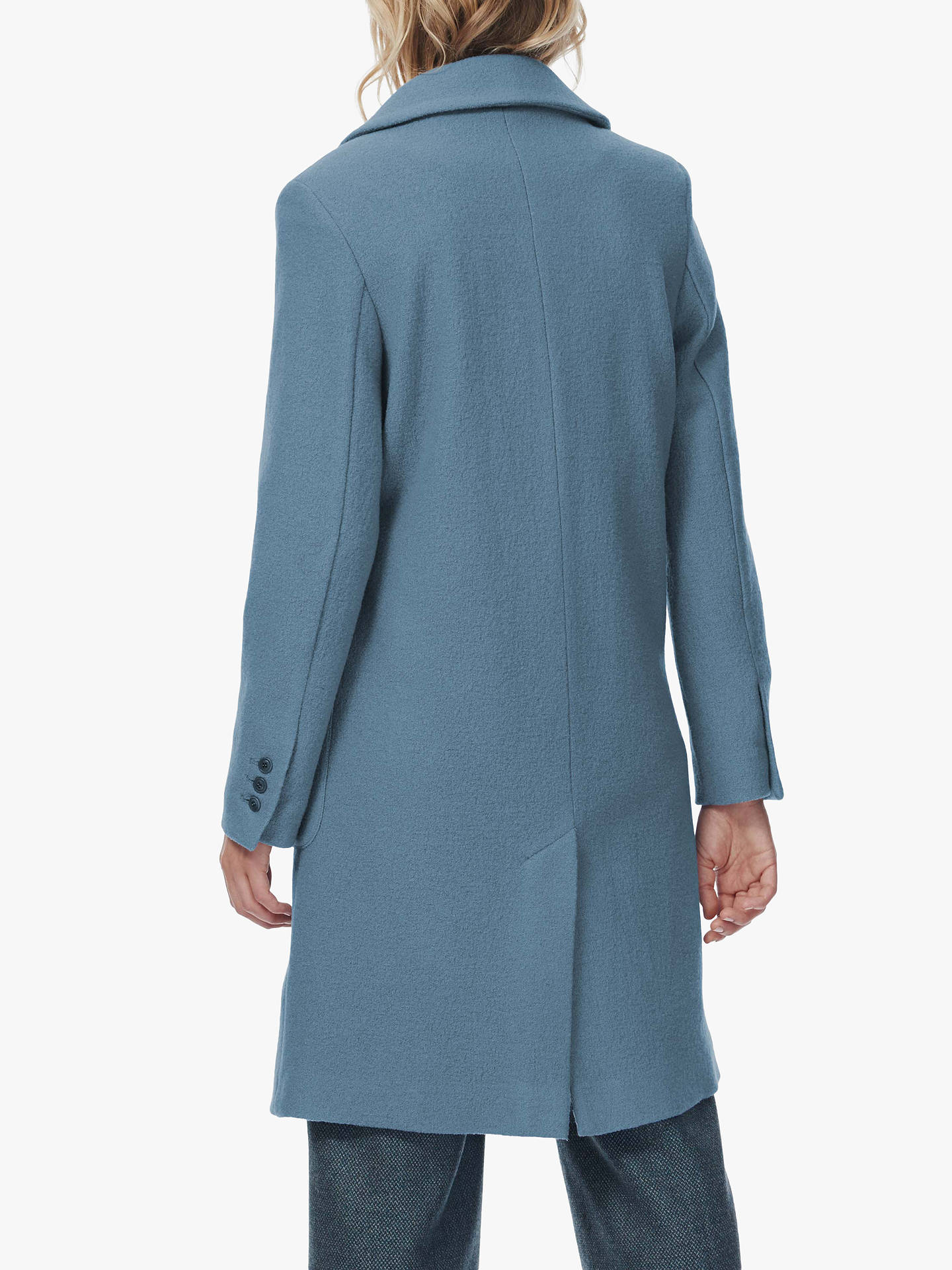 BuyBrora Boiled Wool Coat, Iris, 8 Online at johnlewis.com
