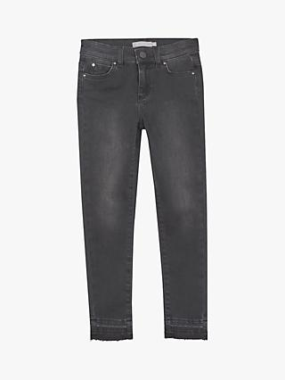Mintie by Mint Velvet Girls' Washed Jeans, Black