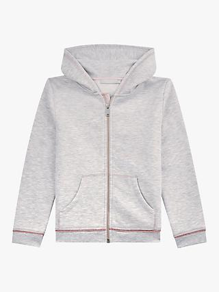 Mintie by Mint Velvet Girls' Hoodie, Light Grey
