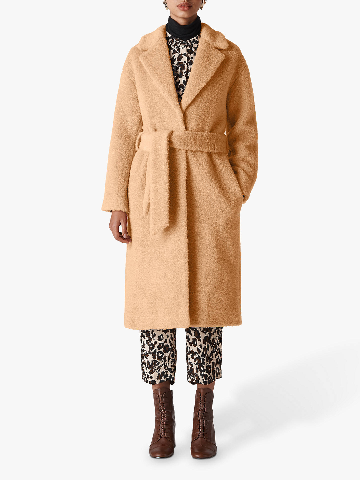 Whistles Textured Coat