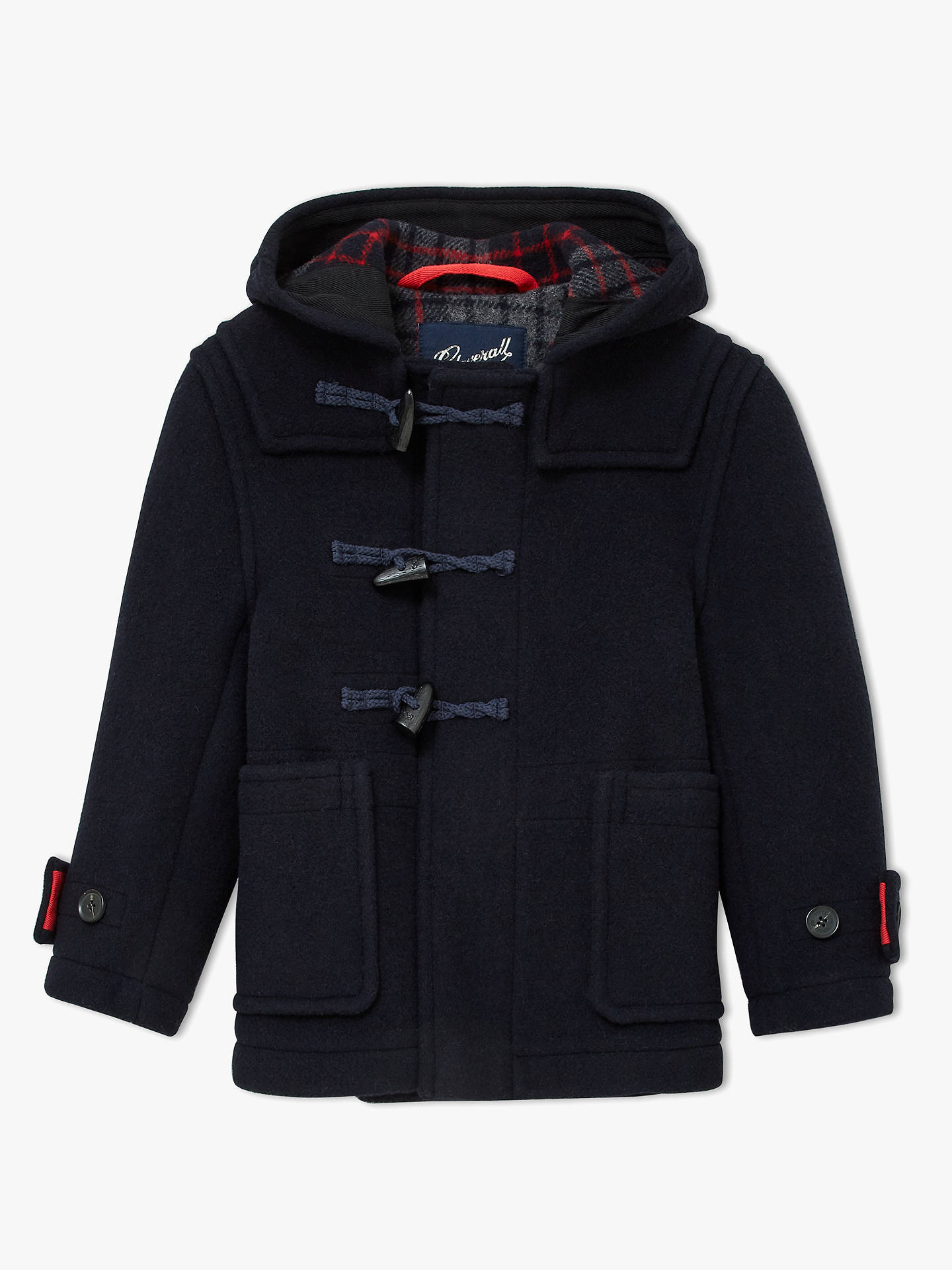 clear and distinctive famous brand elegant and sturdy package Gloverall for John Lewis & Partners Boys' Duffle Jacket ...