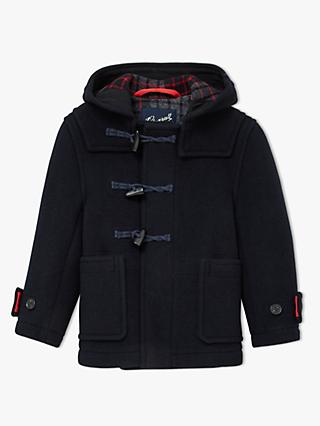 Gloverall for John Lewis & Partners Boys' Duffle Jacket, Navy