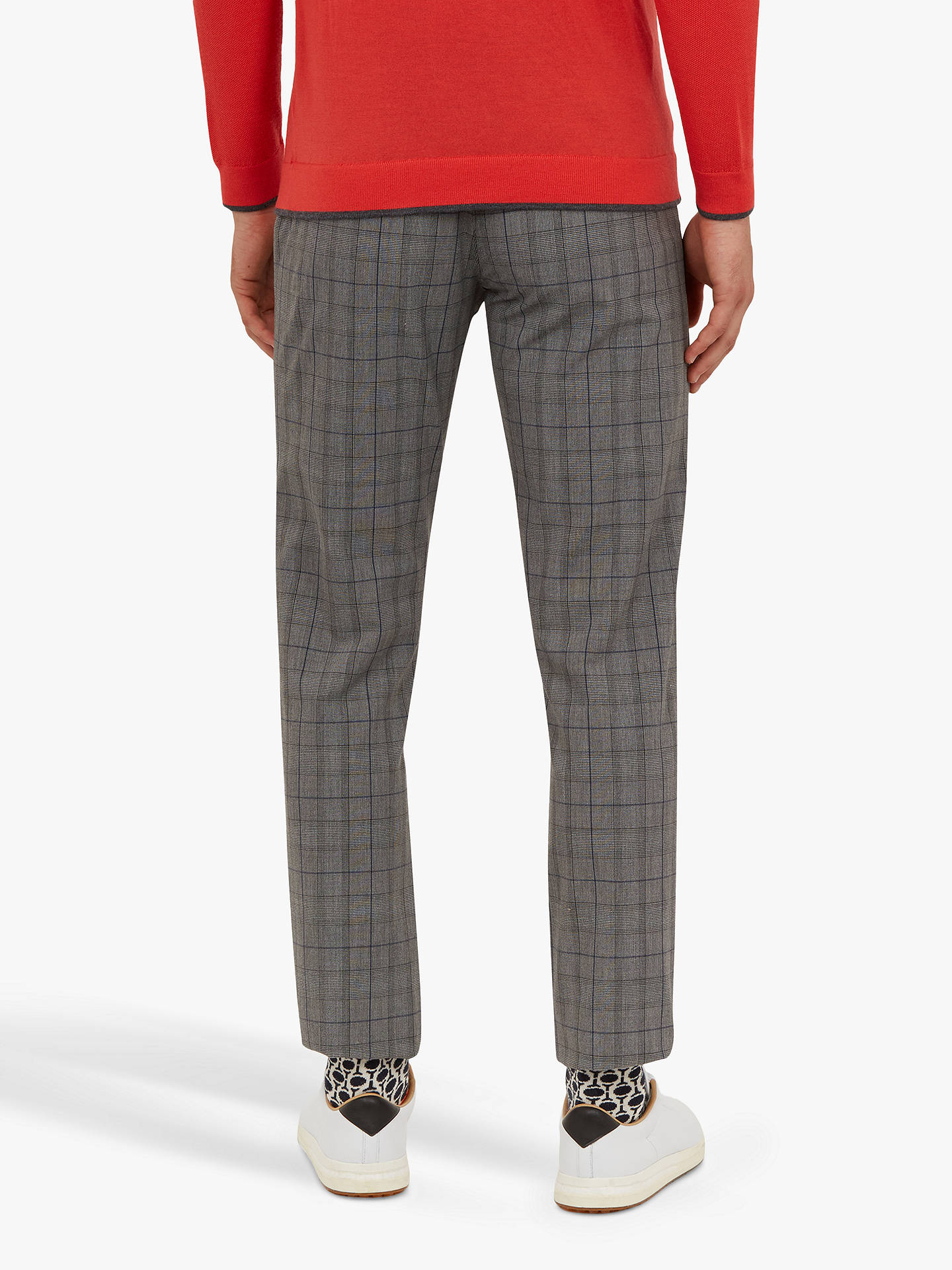 Buy Ted Baker Panthar Golf Trousers, Grey Mid, 38R Online at johnlewis.com