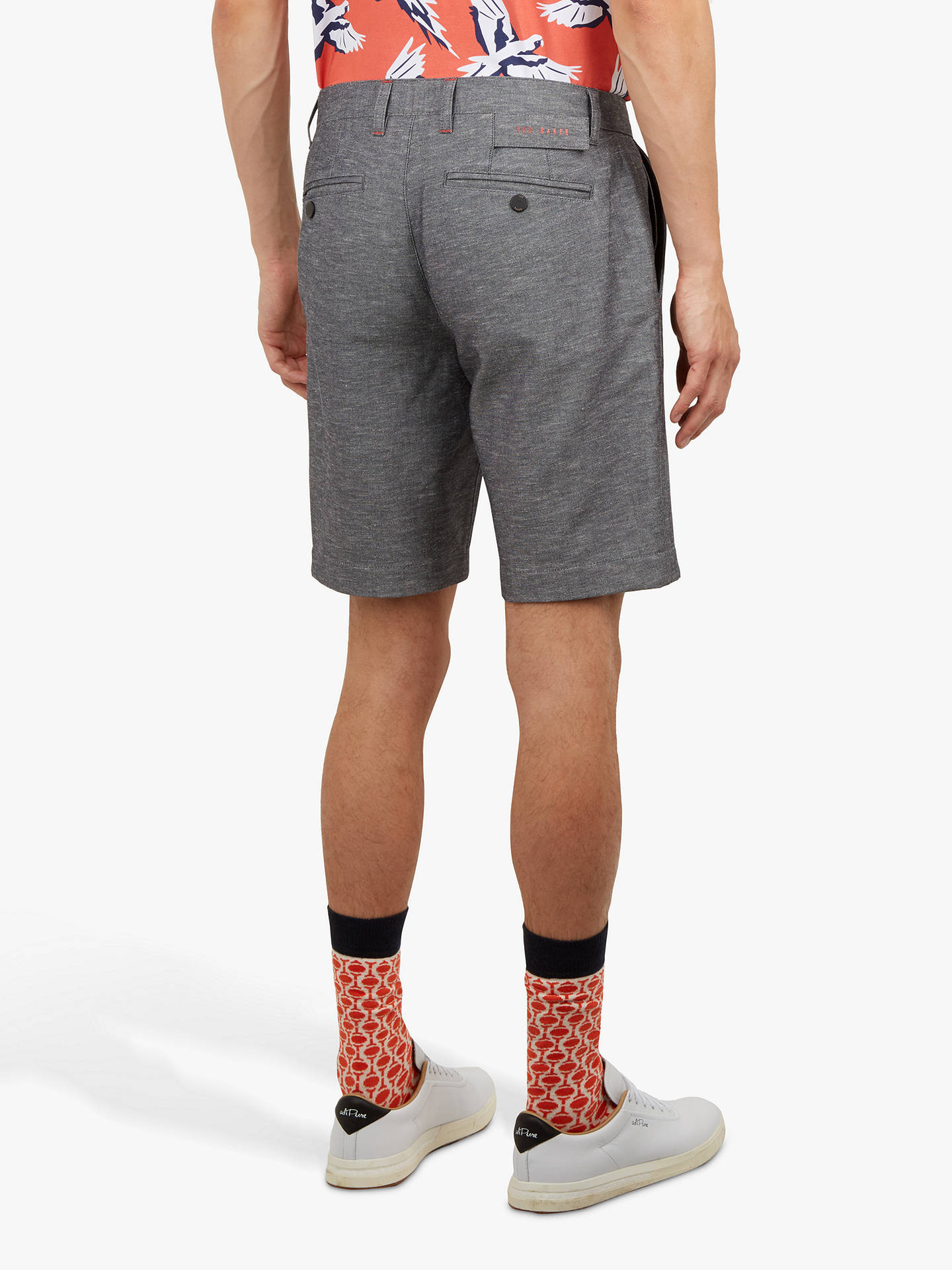 BuyTed Baker Tigur Golf Shorts, Blue Navy, 30R Online at johnlewis.com