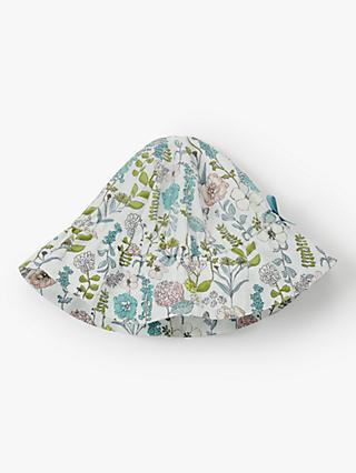 John Lewis   Partners Heirloom Collection Baby Botanical Sun Hat 298cfdde3759