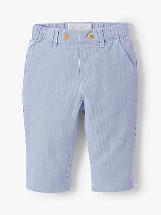c978c1820d5 John Lewis & Partners Heirloom Collection Baby Textured Stripe Trousers,  Blue