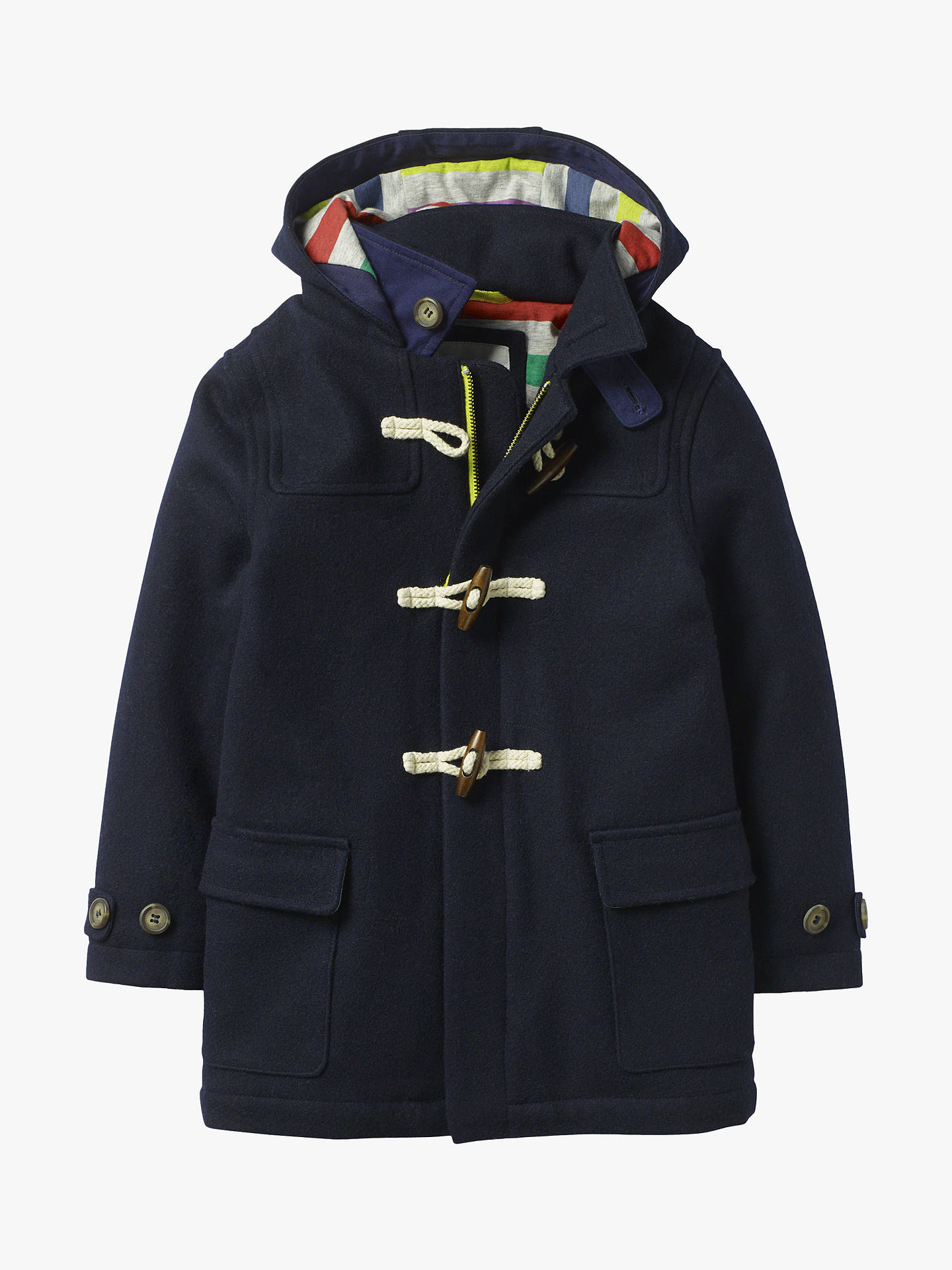 32d2f35ee Mini Boden Boys  Duffle Coat