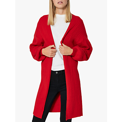 Selected Femme Phillipa Cardigan, True Red