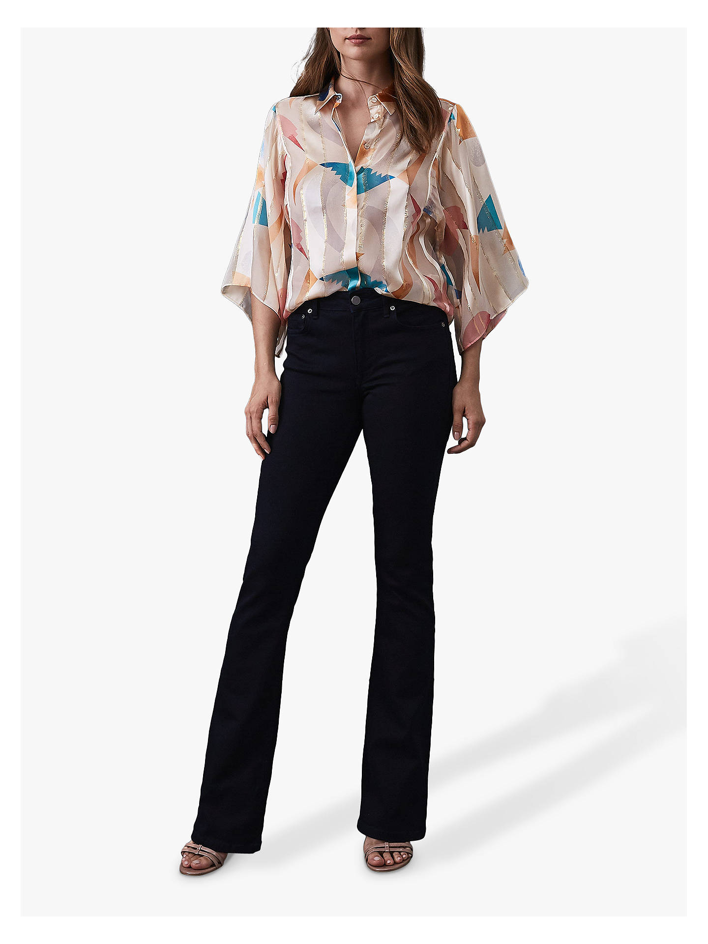 BuyReiss Anabelle Jeans, Ink, 24 Online at johnlewis.com