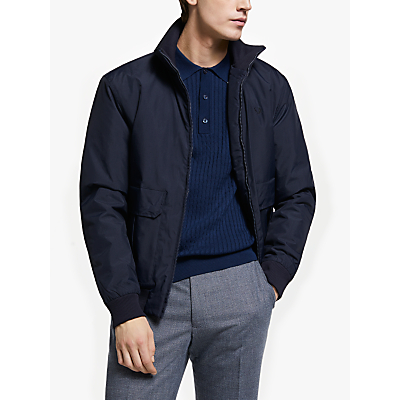 Fred Perry Utility Bomber Jacket, Navy