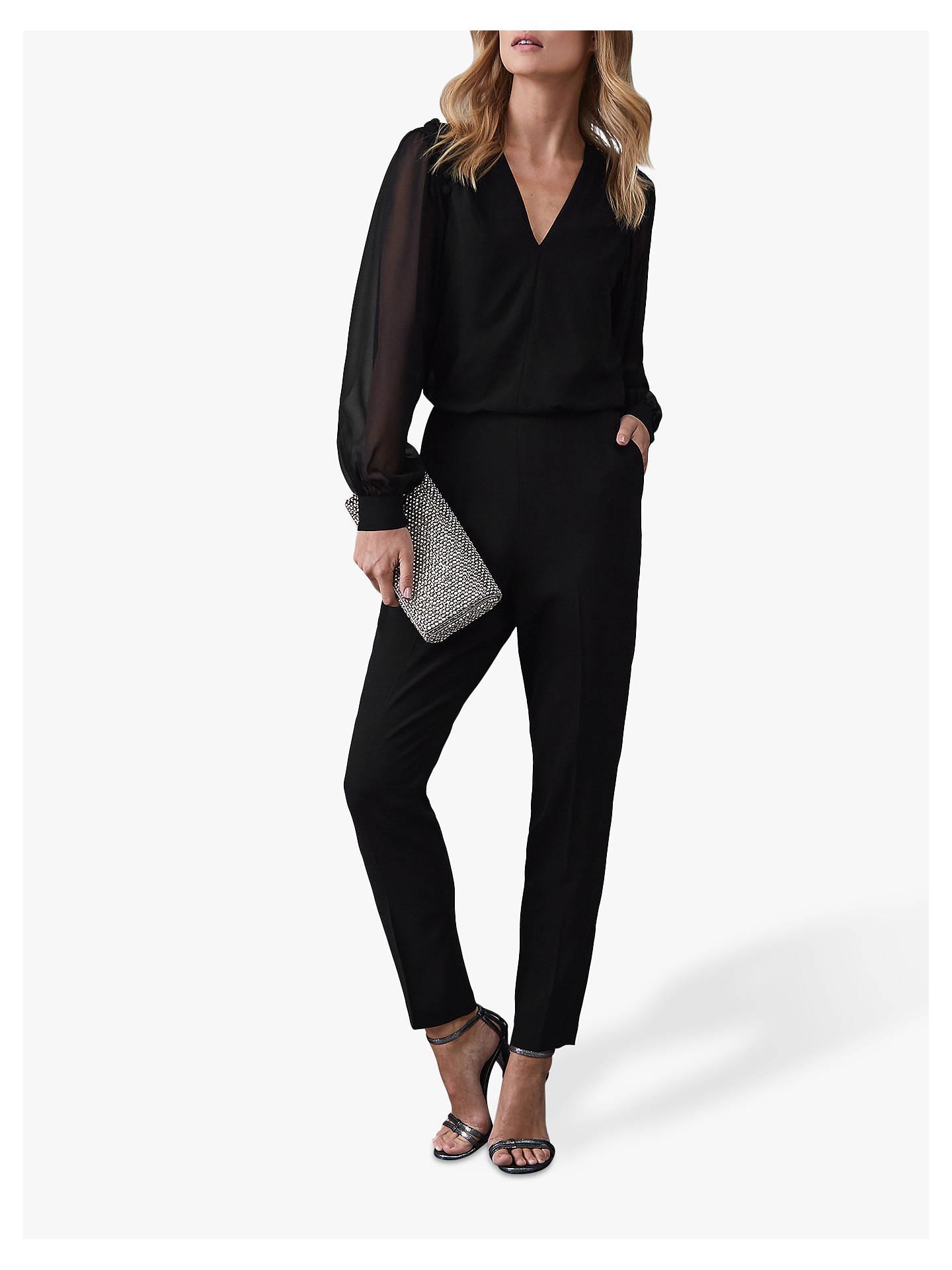 6d3e5ee0eee Buy Reiss Adeliza Button Detail Jumpsuit