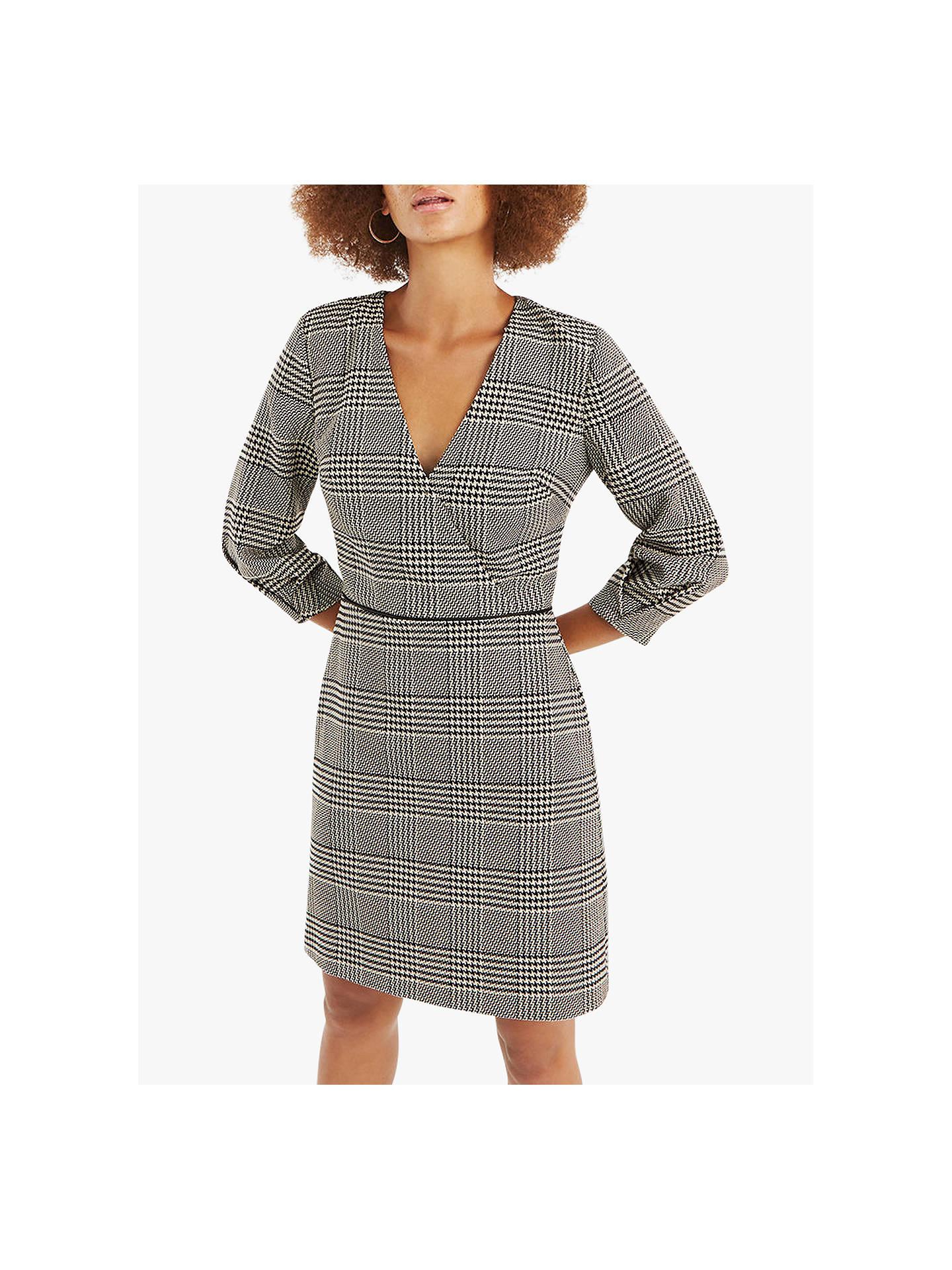 3de3eee40bb Buy Oasis Check Wrap Shift Dress