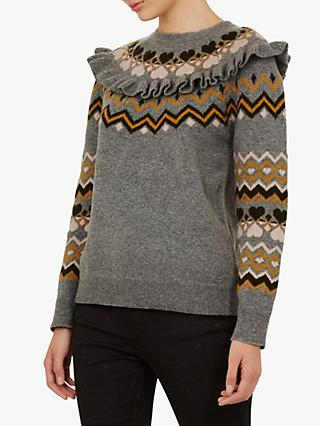 Ted Baker Mysheli Sweater, Mid Grey