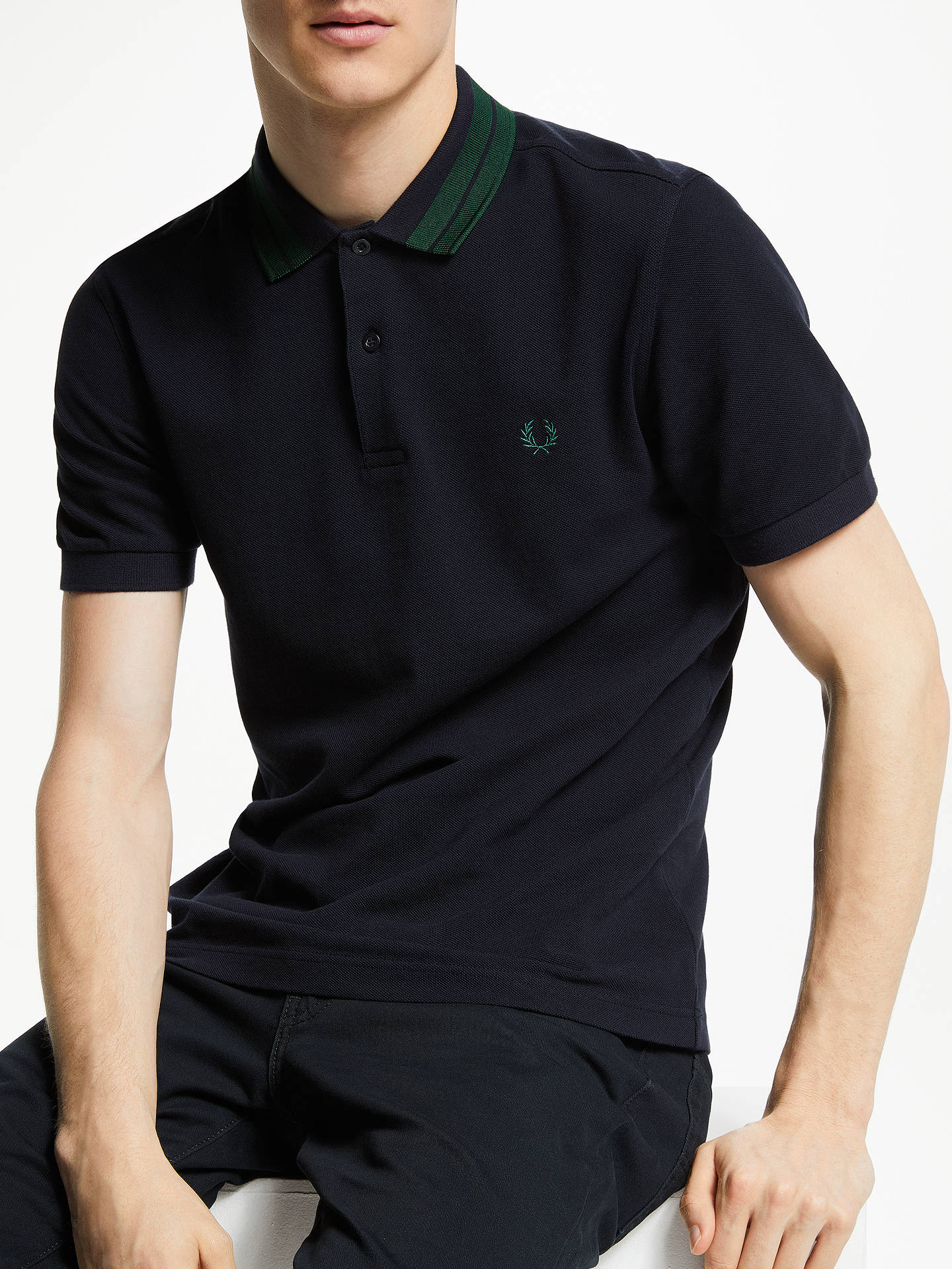 1ca2d89be Buy Fred Perry Bold Tipped Collar Polo Shirt