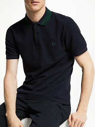 5e483b539 Fred Perry Bold Tipped Collar Polo Shirt