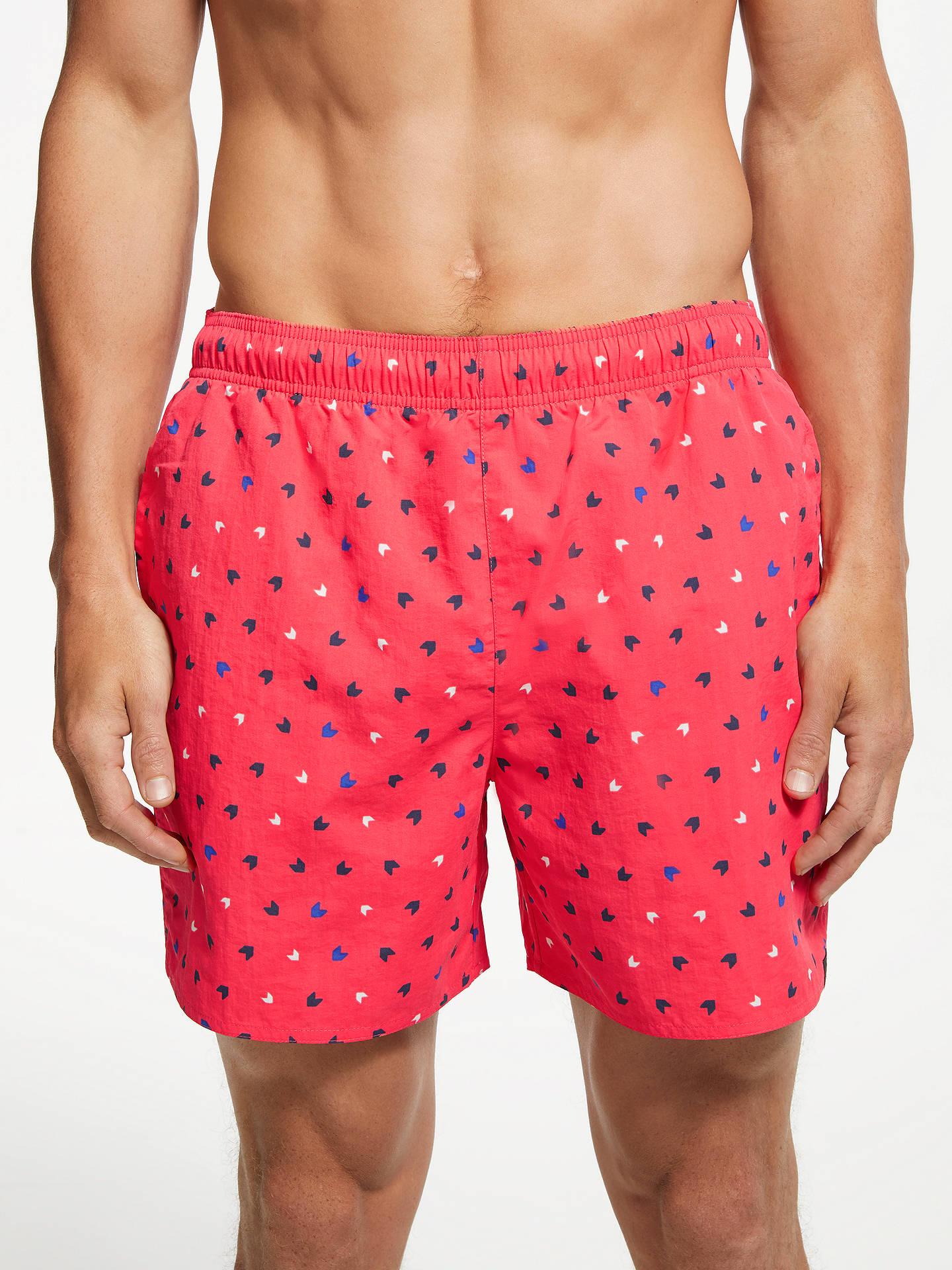 2b736791fd Buy adidas Allover Print Swim Shorts, Prism Pink/Legend Ink, XL Online at  ...
