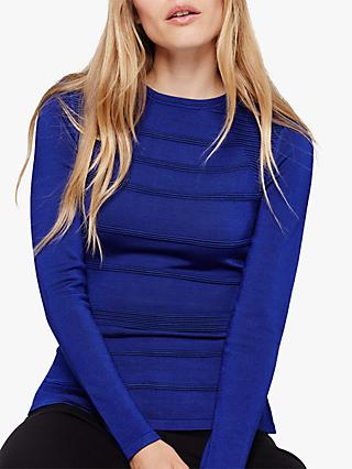 Damsel in a Dress Clariss Zip Jumper, Cobalt