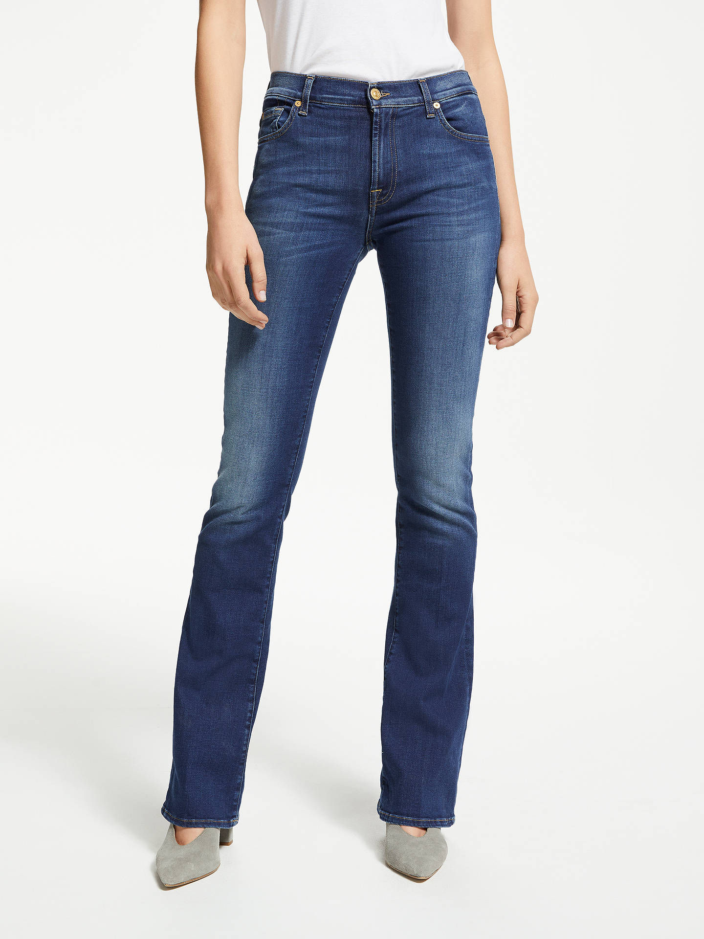 Buy7 For All Mankind Bootcut B(air) Jeans, Duchess, 26 Online at johnlewis.com