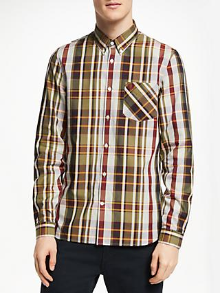 760a7db97 Fred Perry Bold Check Long Sleeve Shirt