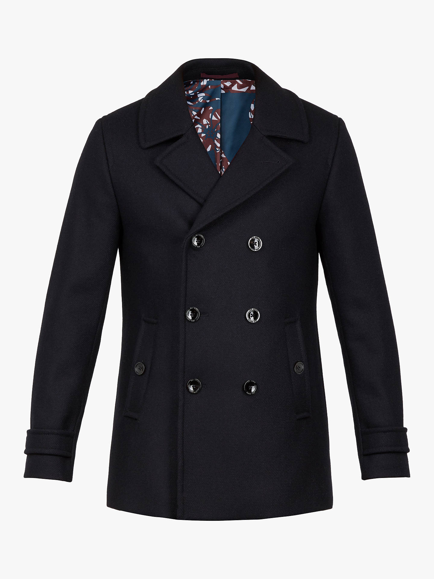 Buy Ted Baker Grilld Peacoat, Navy, L Online at johnlewis.com
