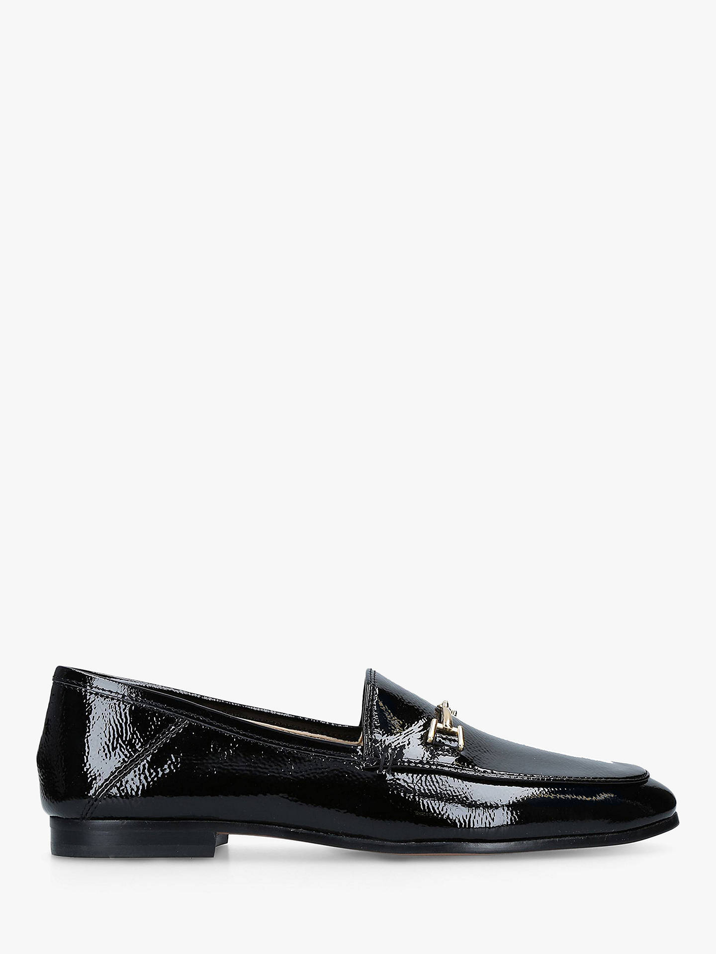 BuySam Edelman Loraine Moccasins, Black Patent Leather, 2.5 Online at johnlewis.com
