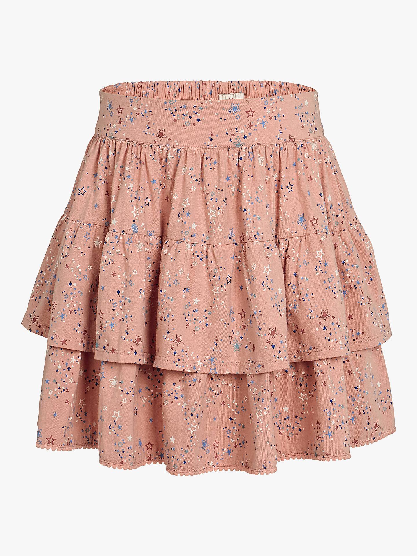 ea7f92c23b Buy Fat Face Girls' Star Skirt, Dusky Pink, 2-3 years Online ...