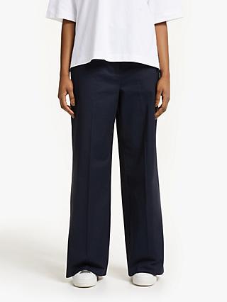 cbeb47a41fe Kin Parallel Leg Cotton Trousers