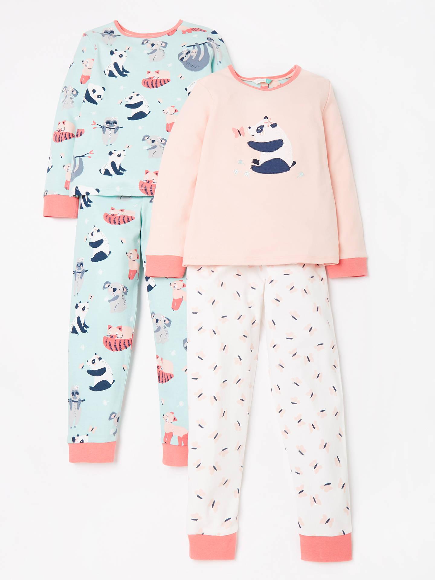 8402c97c7 John Lewis   Partners Girls  Panda Print Pyjamas