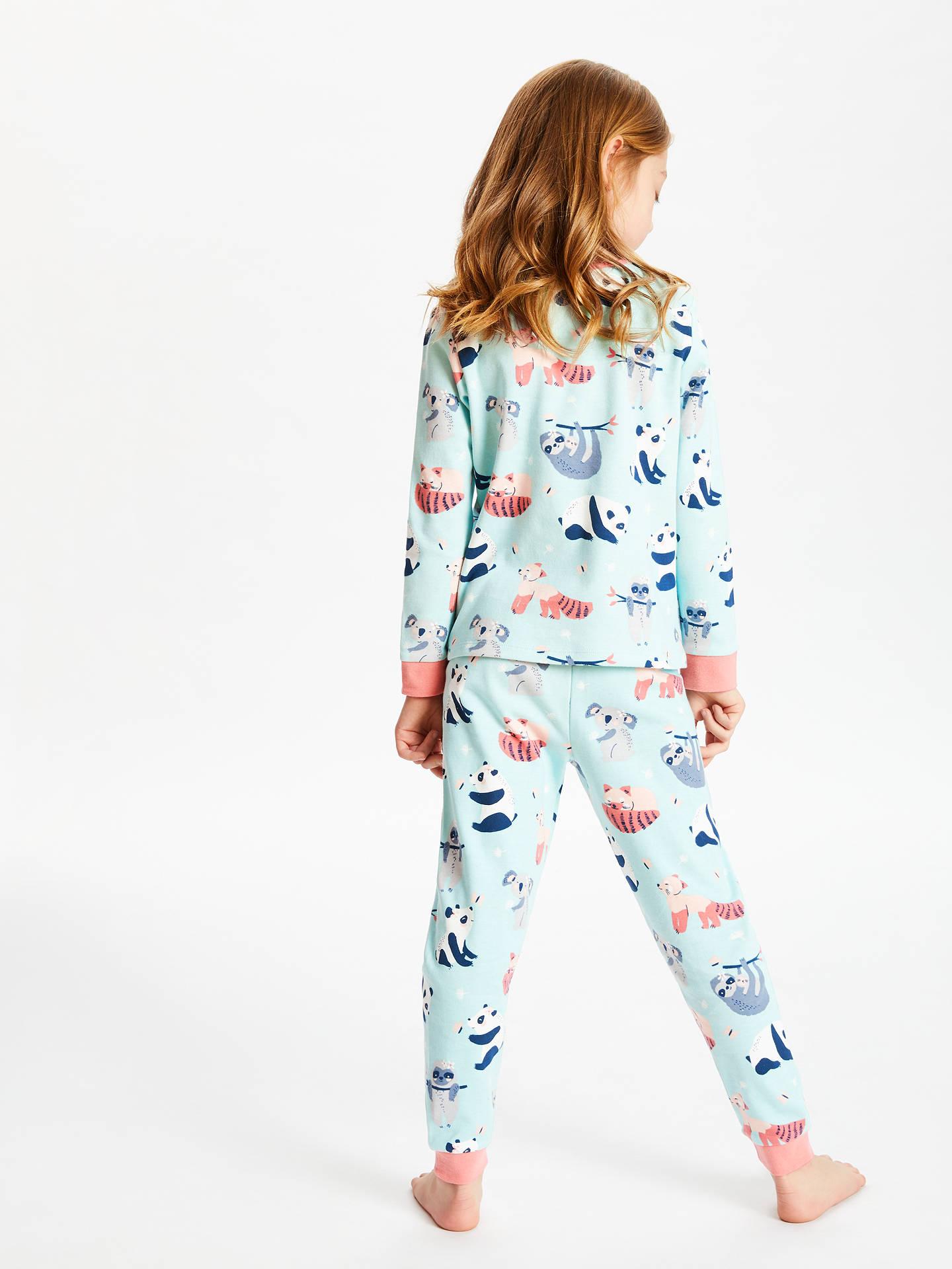 ... BuyJohn Lewis   Partners Girls  Panda Print Pyjamas fa41fe9c9