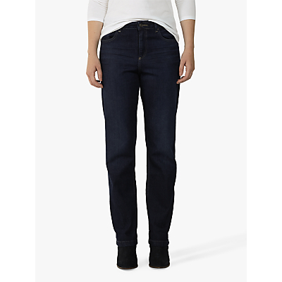 Fat Face Easy Straight Jeans, Blue Denim