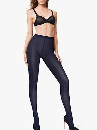 7529d460fbd Wolford 60 Denier Beth Patterned Opaque Tights