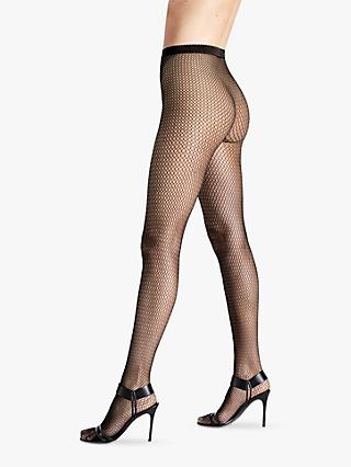 492fe0773f6f4d Wolford Soft Whisper Fishnet Tights, Black