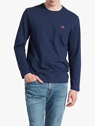 Levi's Original Long Sleeve T-Shirt, Blue